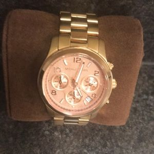 Authentic Michael Kors Rose Gold Women's Watch